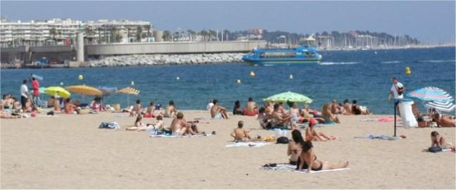 Saint Raphael Summer beach