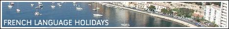 French Language Holidays large banner