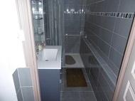 Modern bathroom with shower