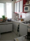 The fully equipped kitchen with all amenities needed in a modern home